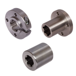 Thumbnail of Splined hubs and clamp collars